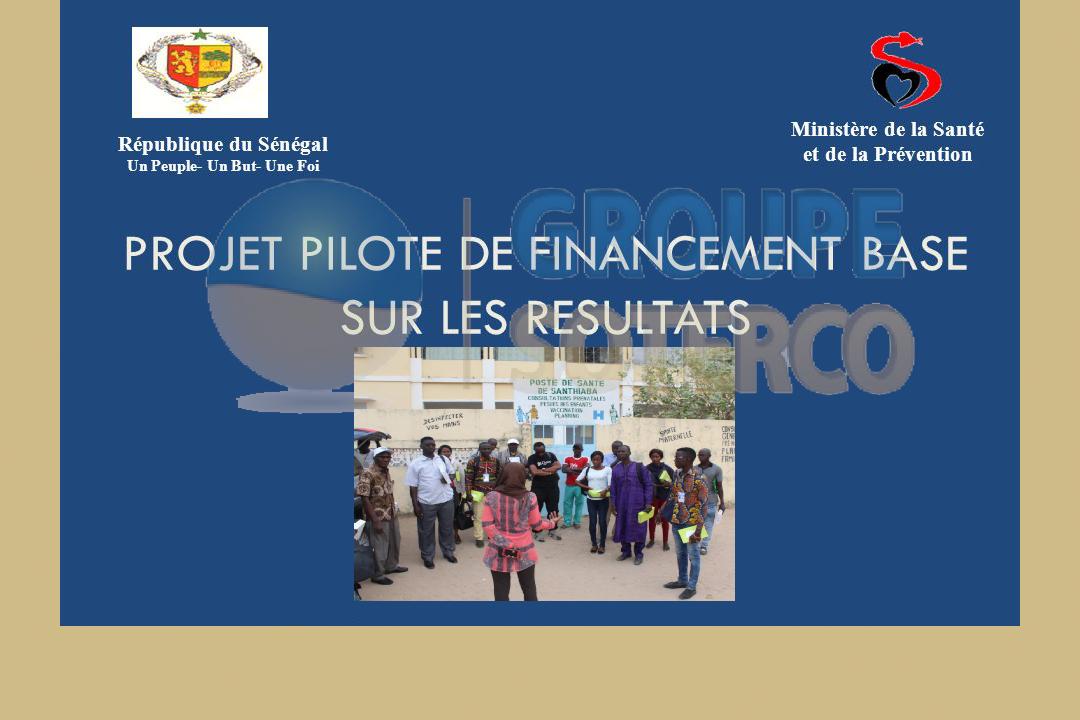 <strong>MSAS/ PFSN : Projet de Financement basé sur les résultats (FBR) Agence de vérification indépendante du projet FBR dans le domaine de la santé maternelle et néonatale</strong>