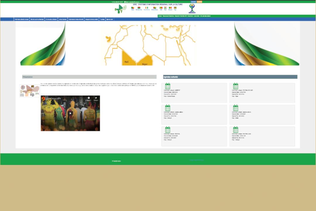 <strong>UEMOA : Mise en place d'un système d'information régional sur la culturel (SIRC) pour l'union économique et monétaire ouest africain</strong>